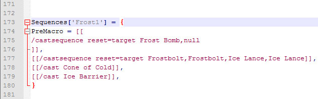 Frost Single Target Mage Macro - Notepad Code