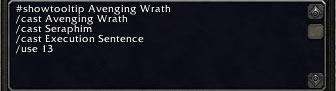 Retri Pally Damage Burst Macro